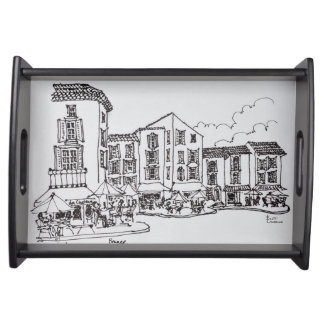 Outdoor Dining | Gordes, South of France Serving Tray