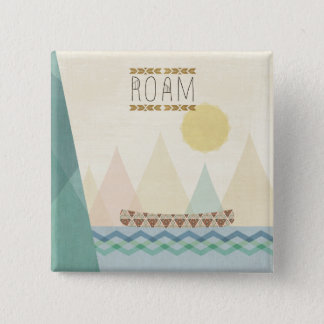 Outdoor Geo II | Roam 2 Inch Square Button