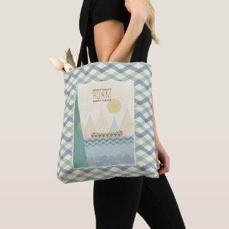 Outdoor Geo II   Roam Tote Bag