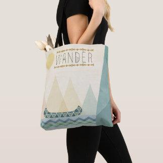 Outdoor Geo III   Wander Tote Bag
