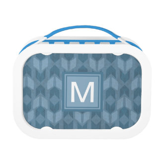 Outdoor Geo Step | Blue Arrow Pattern Lunch Box