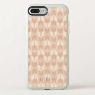 Outdoor Geo Step | Coral Arrow Pattern OtterBox Symmetry iPhone 8 Plus/7 Plus Case