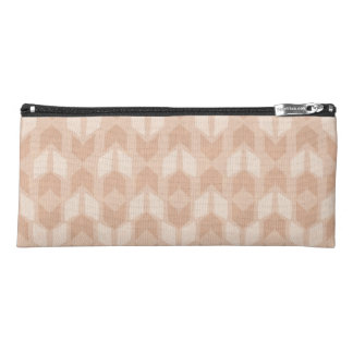 Outdoor Geo Step | Coral Arrow Pattern Pencil Case