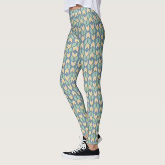 Outdoor Geo Step | Geometric Arrow Pattern Leggings