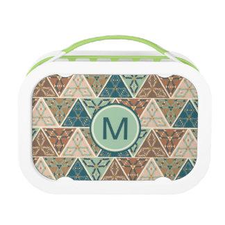 Outdoor Geo Step | Geometric Pattern Lunch Box