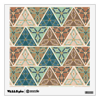 Outdoor Geo Step | Geometric Pattern Wall Sticker