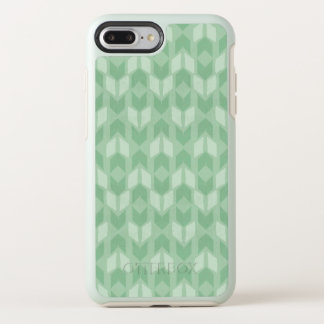 Outdoor Geo Step | Green Arrow Pattern OtterBox Symmetry iPhone 8 Plus/7 Plus Case