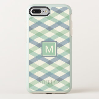 Outdoor Geo Step | Pastel Geometric Pattern OtterBox Symmetry iPhone 8 Plus/7 Plus Case