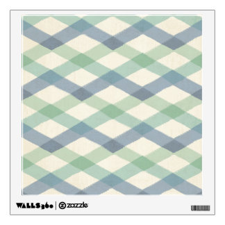 Outdoor Geo Step | Pastel Geometric Pattern Wall Decal