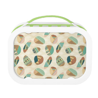 Outdoor Geo Step  | Teal Pattern Lunch Box