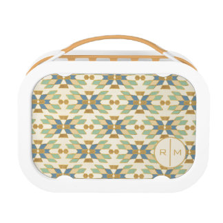 Outdoor Geo Step | Tribal Pattern Lunch Box