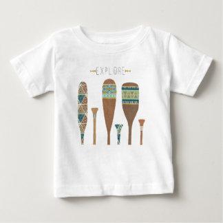 Outdoor Geo VII | Explore Baby T-Shirt