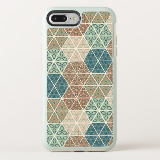Outdoor Geo XI | Blue & Green Tribal Pattern OtterBox Symmetry iPhone 8 Plus/7 Plus Case