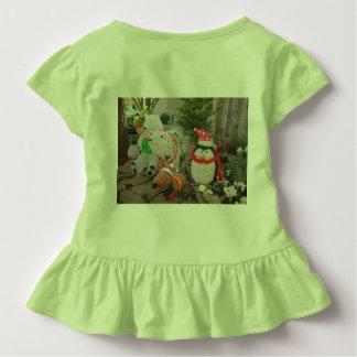 outdoor holiday toys penguin,polar bear and reinde toddler t-shirt