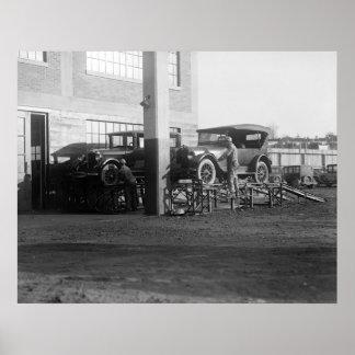 Outdoor Maintenance: 1926 Poster