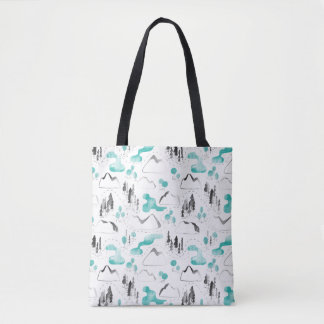 Outdoor map Tote Bag