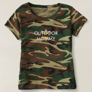 Outdoor Mommy Camo Shirt