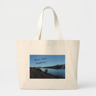 Outdoor Serenity Large Tote Bag