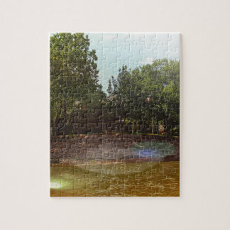 Outdoor Shoreline View From the Lake Jigsaw Puzzle