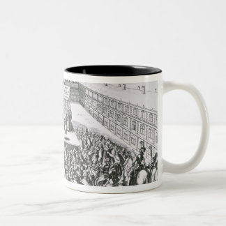 Outdoor Theatrical Performance with Antoine Two-Tone Coffee Mug