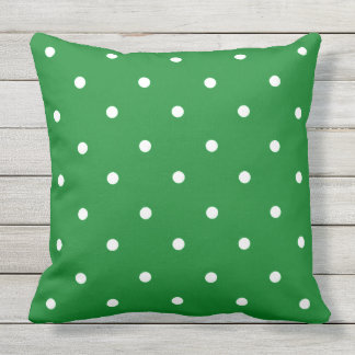 Outdoor Vivid's-Santa Green_ Outdoor Pillow