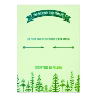 Outdoor Wedding Card