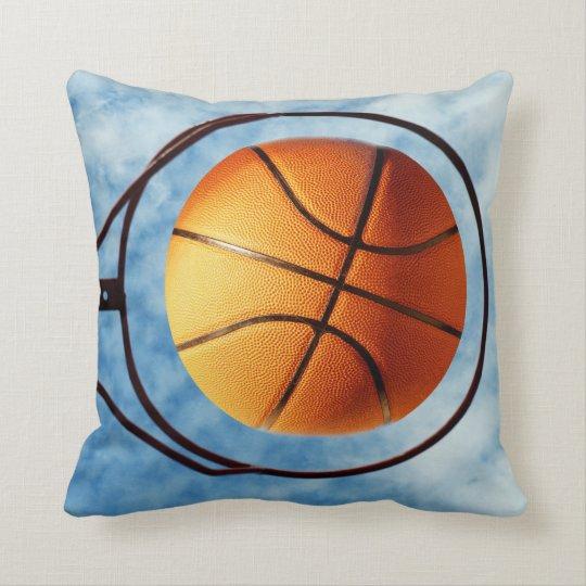 Outdoors Basketball Hottest Shot, Throw Pillow