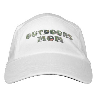 Outdoors Mom in real Camo Headsweats Hat