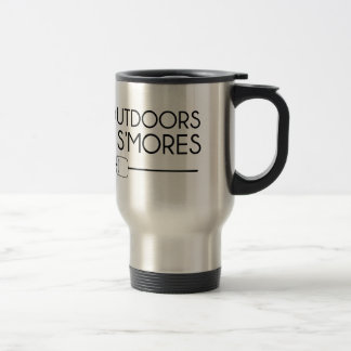 Outdoors & Smores Travel Mug