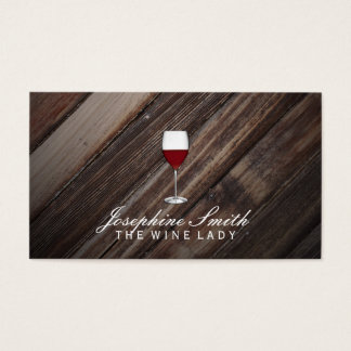 Outdoors | Wine Business Card
