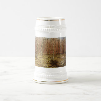 Outdoorsman/Nature Beer Stein