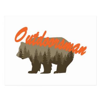 Outdoorsman Postcard