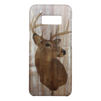 Outdoorsman Western Primitive barn wood deer Case-Mate Samsung Galaxy S8 Case
