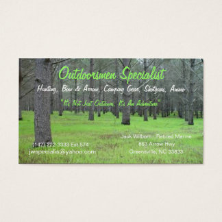 Outdoorsmen Card