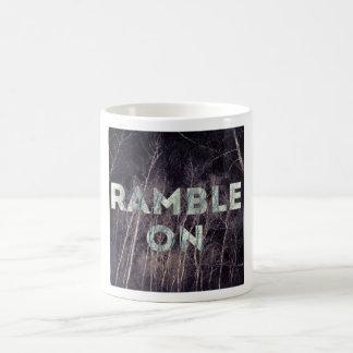 outdoorsy inspirational mug