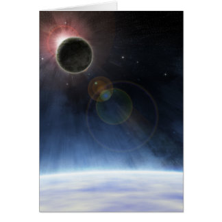 Outer Atmosphere of The Planet Earth Card
