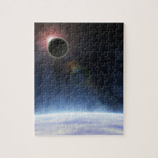 Outer Atmosphere of The Planet Earth Jigsaw Puzzle
