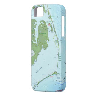 Outer Bank Map iPhone 5 Case