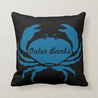 Outer Banks Blue Crab Pillow