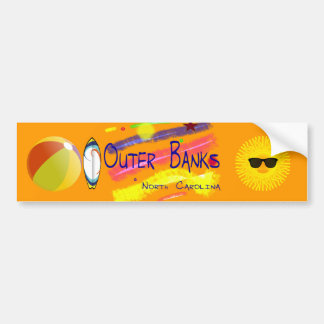 Outer Banks  Bumper Sticker Car Bumper Sticker
