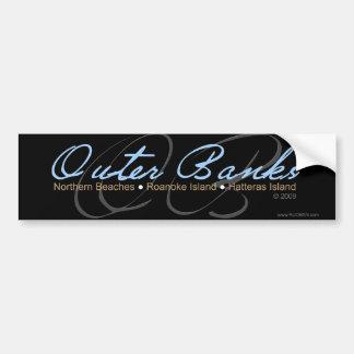 Outer Banks Car Bumper Sticker