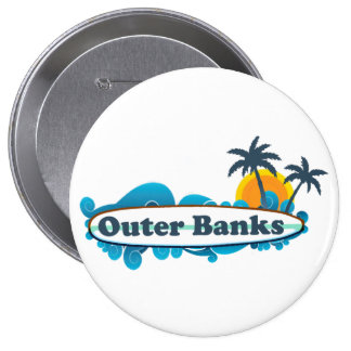 Outer Banks. Pinback Buttons