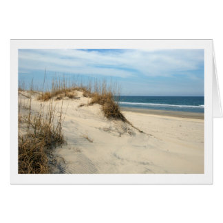 Outer Banks Dunes Greeting Card