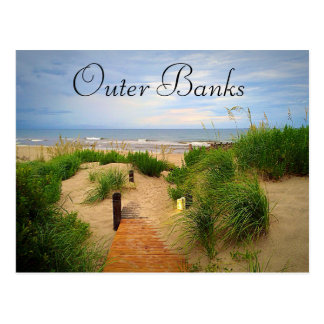 Outer Banks Dunes Postcard