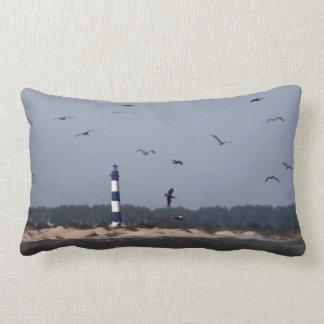 Outer Banks Lighthouse Lumbar Pillow