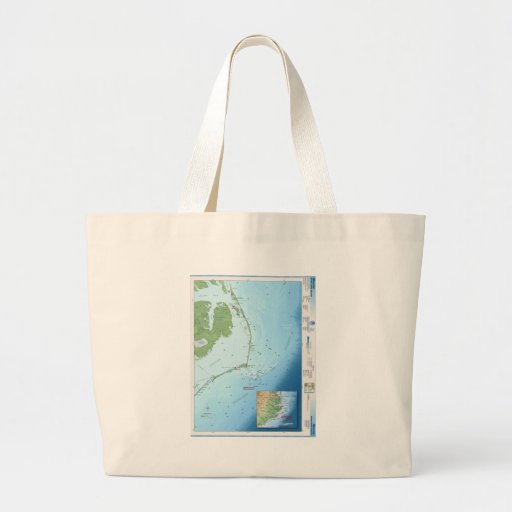 Outer Banks Map Bag
