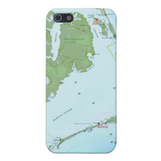 Outer Banks Map iPhone 5 Cases
