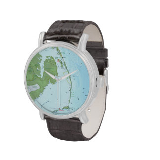 Outer Banks Map Watches