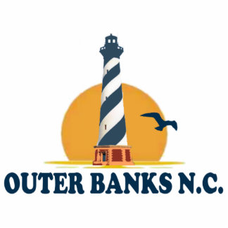 Outer Banks Acrylic Cut Outs