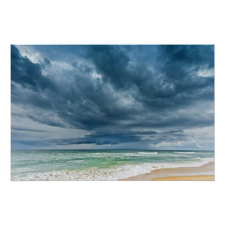 Outer Banks Storm Poster